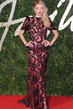 todas las imagenes de la alfombra roja de los premios brit fashion awards 2013