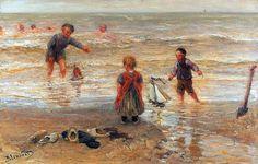 Bernardus Johannes Blommers (1845-1914) Dutch artist