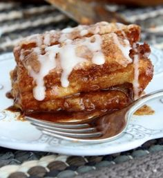 Cinnamon Roll Lasagna. The BakerMama layers cinnamon rolls like a lasagna for a delicious twist to everyone's favorite breakfast indulgence!...