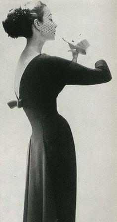 Lillian Bassman Harper's Bazaar, 1956 #vintage @smokyrags