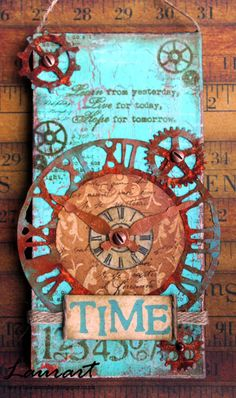 SanDee & amelie's Steampunk Challenges: The Ravages of Time - Mid-month Reminder