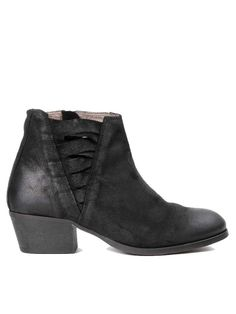 Hudson Black Ankti Boot: Crafted in beautiful suede with woven detailing, Hudson's Ankti Ankle Boot is a greatchoice for everyday.Sat on a block heel, Ankti has afull leather lining for comfort and a durable sole for longevity.Stylish and versatile, these wearable ankle boots work just as well with skirts and dresses as they do with jeans.