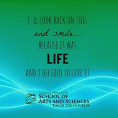 Choose life! #touchthefuture