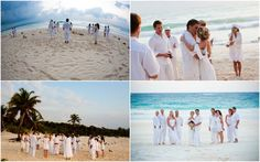 Sunrise Beach Wedding.