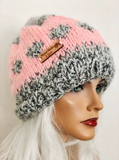 c5a2fc91 Beanie Slouch Beret Hand Knit Pom Pom Designer Fashion Winter Hip Chic   My  Love for BAGS!