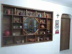 Mexican pottery cross crosses Zapatista cat art beatrice aurera wall collage chiapas san cristobal de las casas la casa de sonia  calavera catrina tin hojalata  de todo un poco