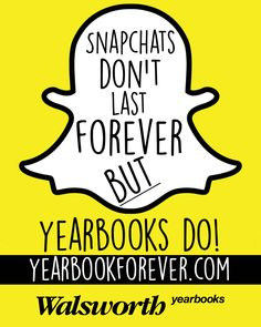 99.9999%  of the students at Kerr have a snapchat, so this could be a funny way to reach the students and convince more people to buy yearbooks.  Link:https://s-media-cache-ak0.pinimg.com/originals/52/6c/7c/526c7cdf2880524fb767d45f84e0237c.jpg