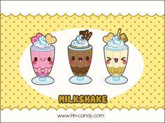 Milkshake Wallpaper by *A-Little-Kitty on deviantART