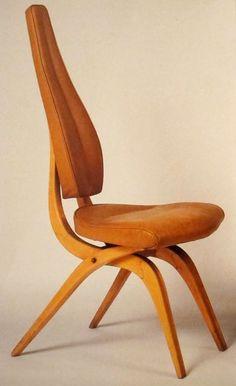 carlo mollino_seduta in acero massiccio_1955