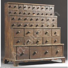 Old Apothecary Chest that I would find something to store in just because it's awesome