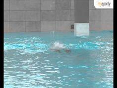 Schwimmen: Training Brustschwimmen - YouTube