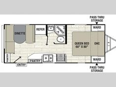 custom 24 ft travel trailer floorplans - Google Search | Airstream ...