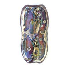 Rainbow Drops - Handmade Lampwork Focal Bead