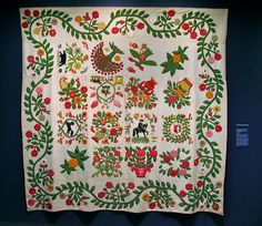 Quilt from the Folk Art Museum.