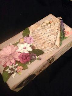 Ballet theme decorated trinket box