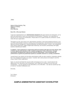 Receptionist Cover Letter Example  HttpJobresumesampleCom