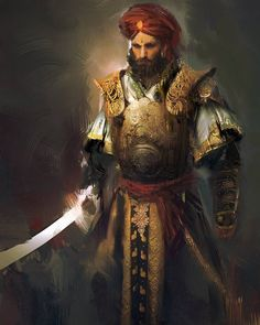 Middle-Eastern Male Warrior