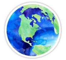 Watercolor World Sticker