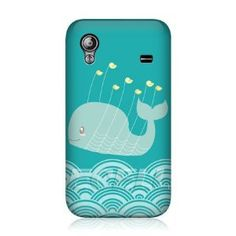 Amazon.com: Ecell - HEAD CASE KAWAII BIRDS AND WHALE DESIGN BACK CASE FOR SAMSUNG GALAXY ACE S5830: Cell Phones & Accessories