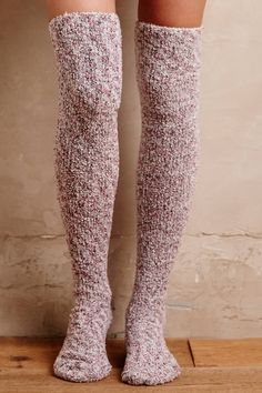 Slouched Over-The-Knee Socks | Pinned by topista.com