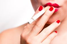 mouth with red lips and red finger nails smoking cigarette misc Lip Care Tips, Kissing Lips, Best Natural Skin Care, Upper Lip, Your Lips, Take Care Of Yourself, Red Lips, Beauty Care, Dental Health