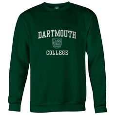 Dartmouth - Crest - Sweatshirt (Hunter)