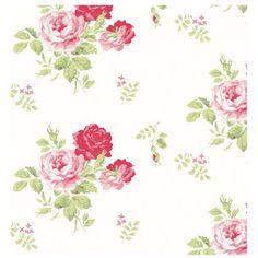 Antique Rose Bouquet Wallpaper .  My favourite!