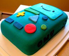 My first ever fondant cake!!