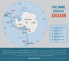 The Daily News of Open Water Swimming: Getting To The Bottom Of Declaring Marine Protected Areas - Lewis Pugh's Five Swims In Antarctica For 1 Reason