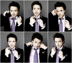 robert downey jr. :) so funny!