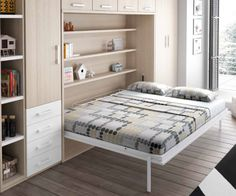 "Receive great suggestions on ""murphy bed desk"". They are on call for you on our site. Smart Furniture, Space Saving Furniture, Living Furniture, Furniture Plans, System Furniture, Kids Furniture, Studio Floor Plans, Murphy Bed Desk, Convertible Furniture"