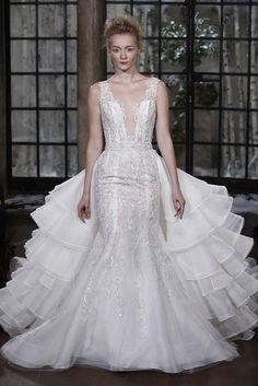Ines di Santo fall2015 bridal fashion week