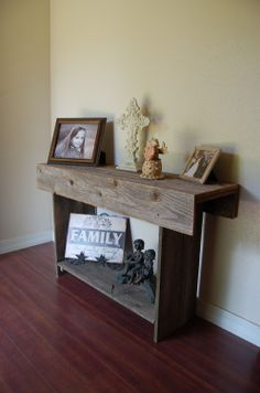 Reclaimed Wood Furniture TV Stand 36 In Long Barn Wood Projects, Reclaimed Wood Projects, Reclaimed Wood Furniture, Rustic Furniture, Home Projects, Man Projects, Pallet Projects, Project Ideas, Country Decor