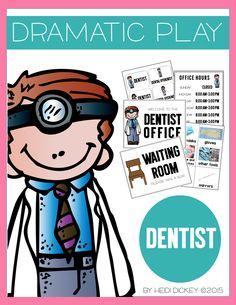 Dentist Dramatic Play Center Kit