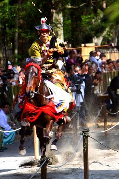 Yabusame: horse-back archery by namukabuwan on PHOTOHITO