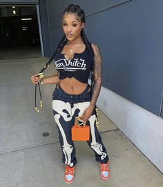 Boujee Outfits, Cute Swag Outfits, Urban Outfits, Fashion Outfits, Model Outfits, Fashion Women, Simple Casual Outfits, Trendy Outfits For Teens, Baddie Outfits Casual