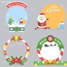 Christmas Note, Christmas And New Year, Christmas Crafts, Merry Christmas, Xmas, Christmas Ornaments, Notes Template, Teacher Notes, Cute Illustration