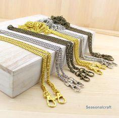 Luggage & Bags Frugal 2018 Diy 40cm-140cm Replacement Metal Purse Chain Handles 6mm Gold Silver Gun Black Bronze Shoulder Bag Straps For Small Handbag