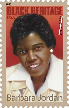 BARBARA JORDAN - Barbara Jordan was the first African-American elected to the Texas legislature since 1883. She also was the first African-American woman elected from the south to Congress, where she served three terms, sponsoring and supporting many pieces of legislation extending federal protection of civil rights. This stamp was issued on Sept. 16, 2011. #BlackHistoryMonth