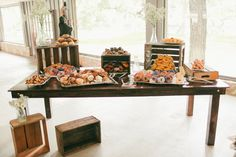A Breakfast Wedding in Texas - photo by Feather & Twine Photography http://ruffledblog.com/a-breakfast-wedding-in-texas