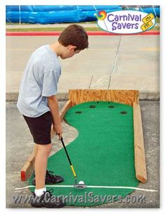 Hole in One -- Carnival Game Idea. Bobcat Bash
