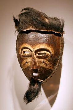 Akye Mask. National Museum of African Art. Nigeria.
