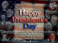 This was found on Fox New's FB page. 21st President, Respect The Flag, Lincoln Birthday, Happy Presidents Day, Bush Family, Family Boards, Fb Page, Before Us, Long Weekend