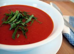 Blogging Cook's Illustrated: Creamy Creamless Tomato Soup