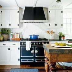 The star of this kitchen is the French-made convection oven. | Coastalliving.com