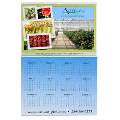 Customize these calendars with your full-colour imprint!