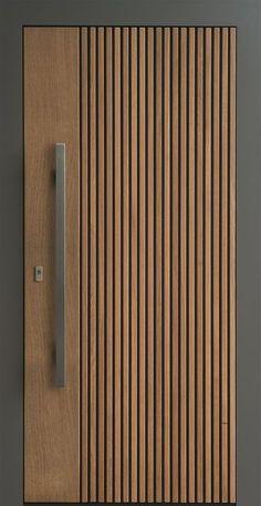 Modern Wooden Doors, Wooden Main Door Design, Room Door Design, Door Design Interior, Modern Interior Doors, Contemporary Doors, New Door Design, Flush Door Design, Brown Interior