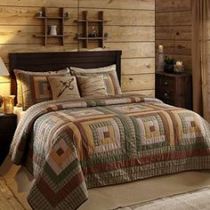 Tallmadge King Quilt 95x105 Ashton & Willow by VHC Brands http://www.amazon.com/dp/B00ZVWBEBG/ref=cm_sw_r_pi_dp_VDsywb09WTFPA