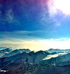 View on the Videmanette mountain, Gstaad/Rougemont Switzerland