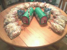 Finally finished my son's classmates treat bags and gifts for his teachers :)